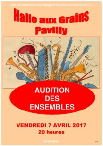 Audition des Ensembles